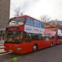 17 января в Ташкенте были запущены двухэтажные автобусы для экскурсий