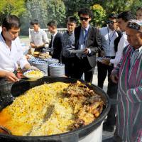 Фестиваль национальных блюд в Ташкенте