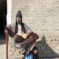 "В городе Бухара  появился ""левитирующий"" дервиш"