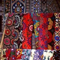 Узбекские ткани - цвета, что не угасают