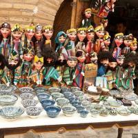 Радующие глаз сувениры. Бухара, Узбекистан