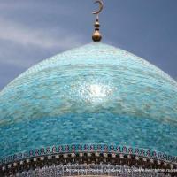 Голубой цвет, наверное, самый любимый в Узбекистане. Бухара