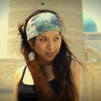 Талантливая и просто красивая узбекская исполнительница Севара Назархан