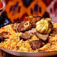 Национальное и самое знаменитое узбекское блюдо - плов!