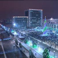 Ташкент, новогодняя елка !