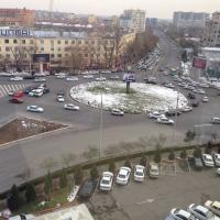 Вид из окна отеля Грандмир в Ташкенте.